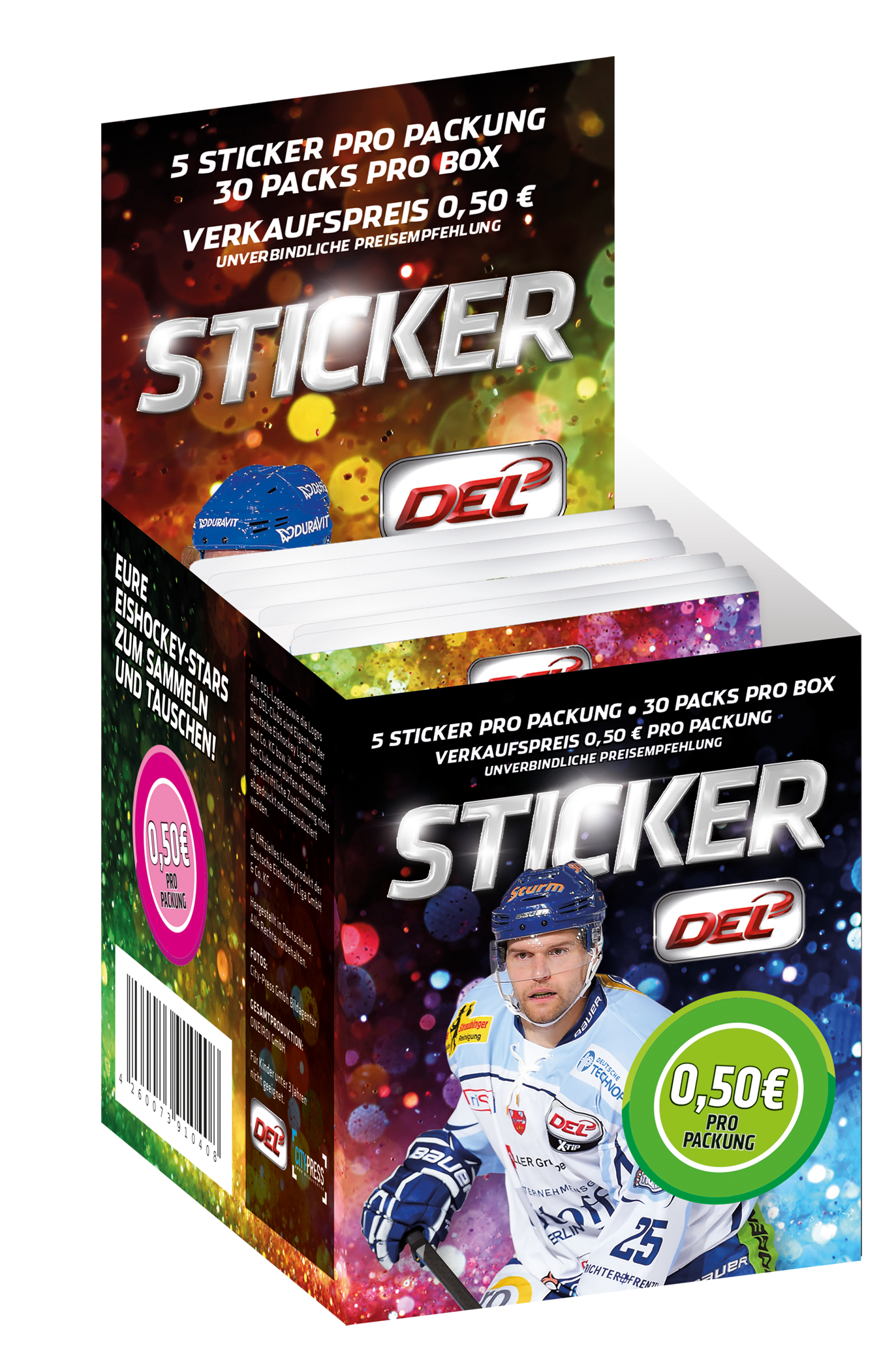 DEL Sticker Box 2015/2016