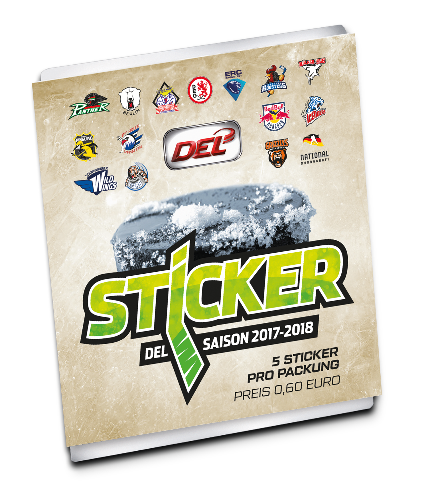 DEL Sticker Packung Saison 2017/2018