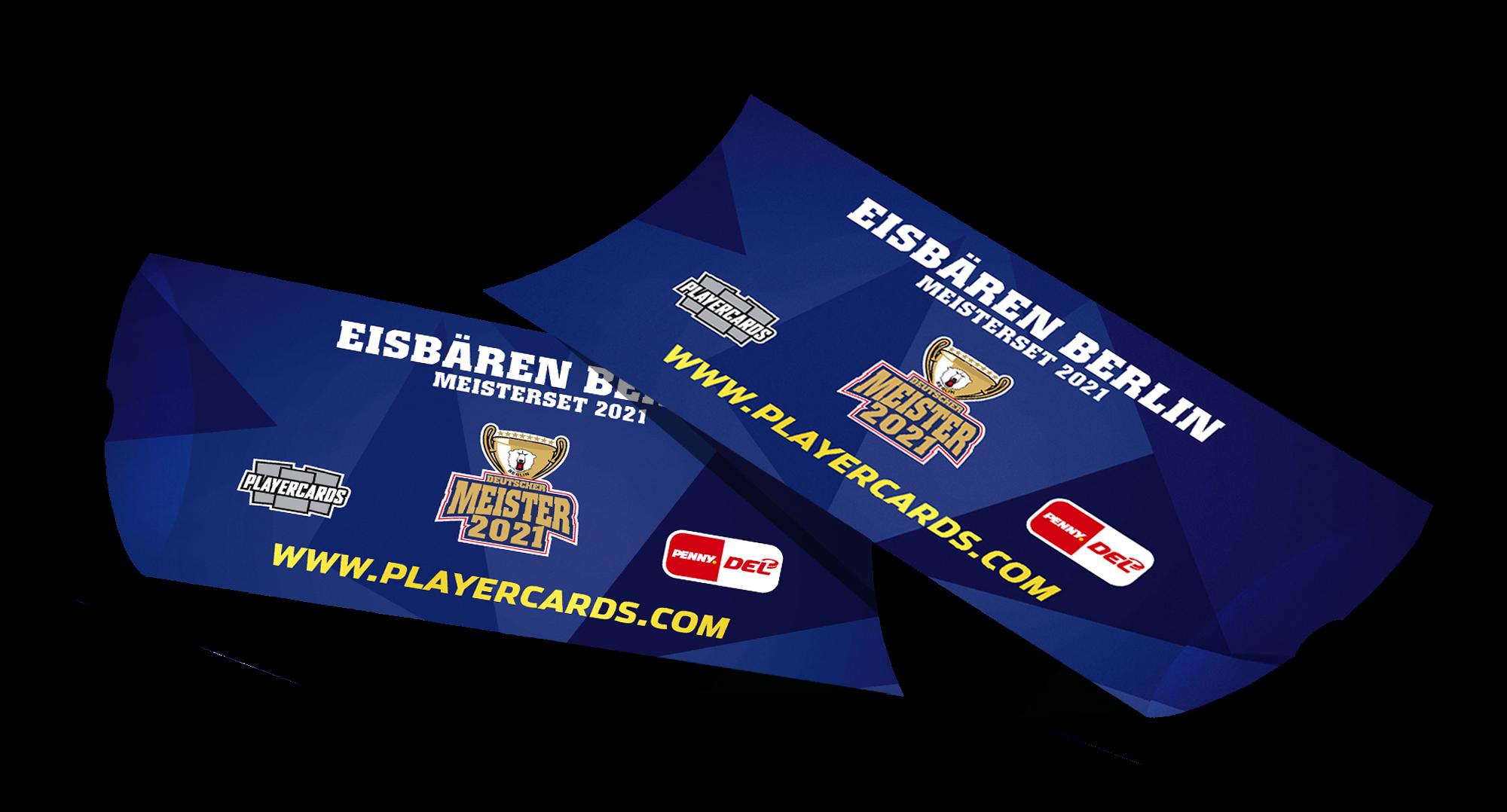 DEL Playercards Meisterset  2021 - Eisbären Berlin