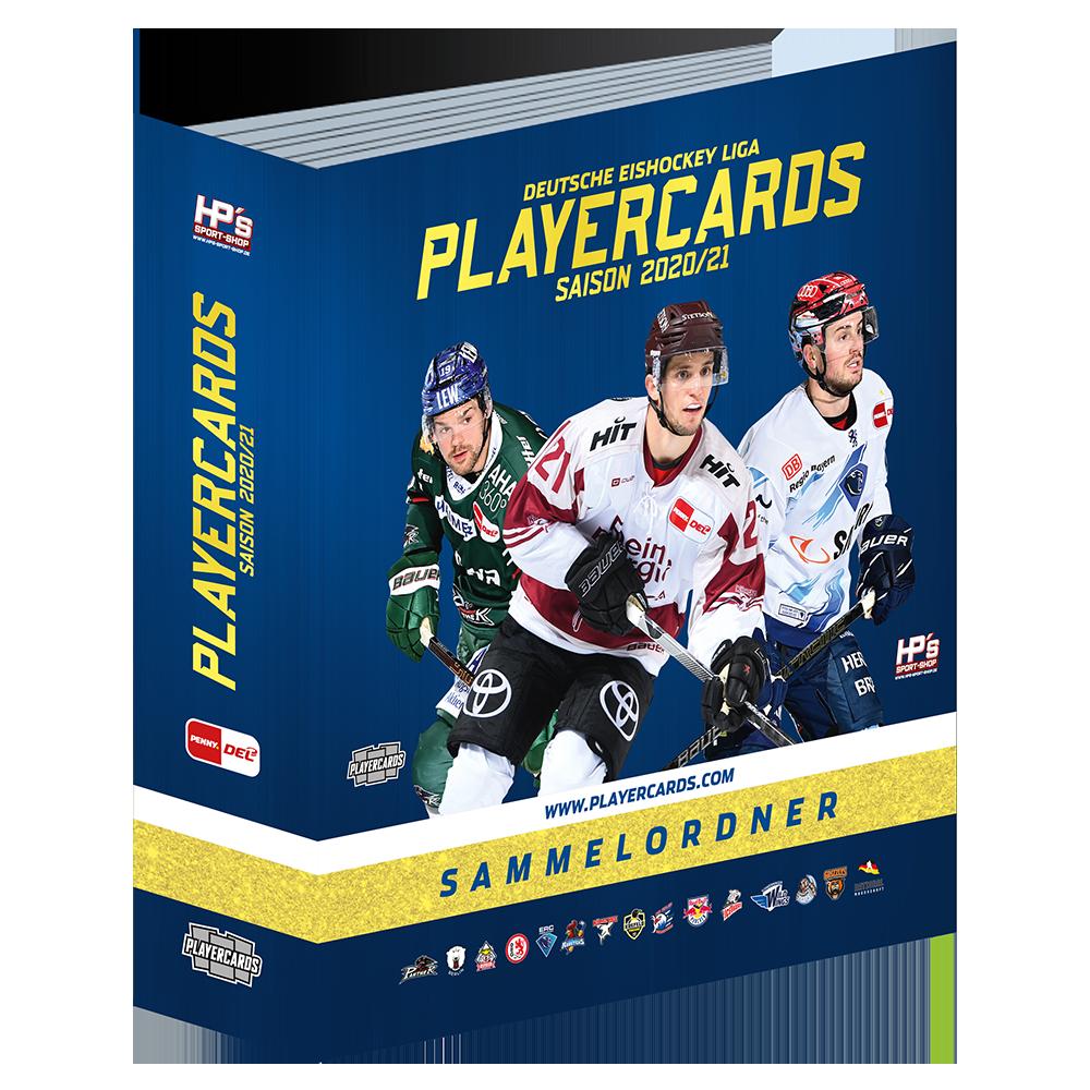 DEL Playercards Sammelordner 2020/21