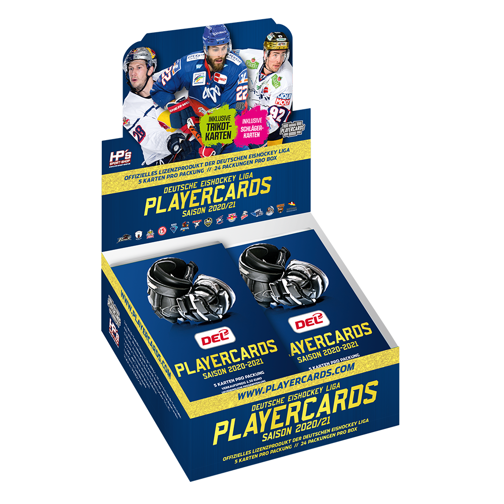 DEL Playercards Box 2020/21